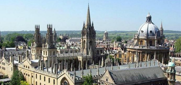 Oxford from the New College tower